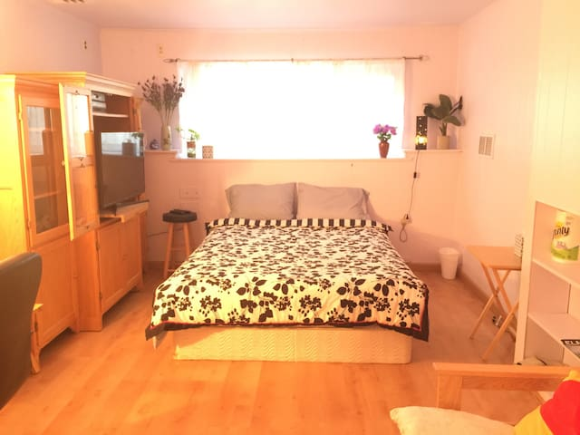 Double Room, Sunshine - Garden City - House