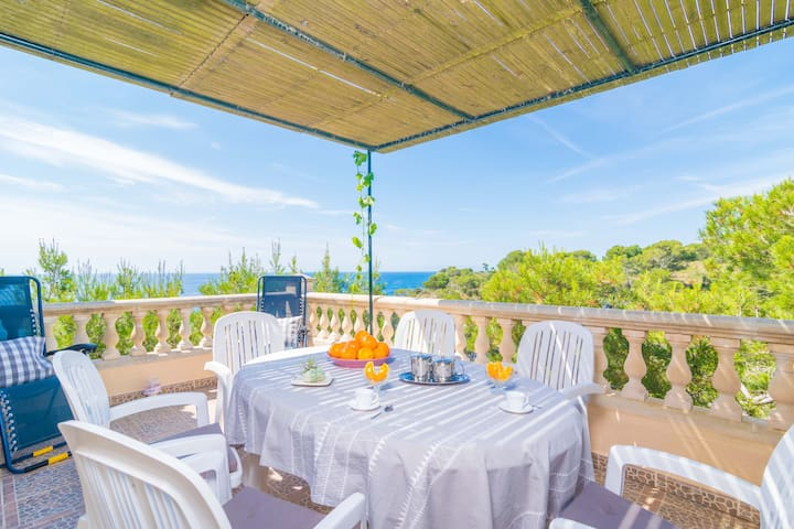 CASA SALMONIA - Chalet for 6 people in Cala S'Almonia.