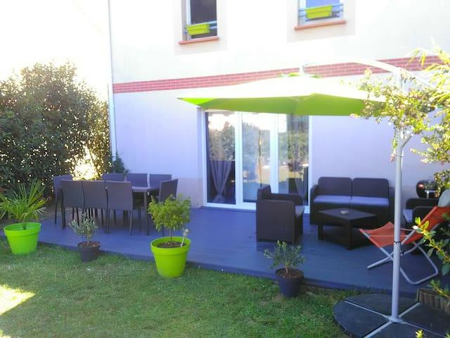 Villa Jardin Piscine 15min Toulouse - Roques