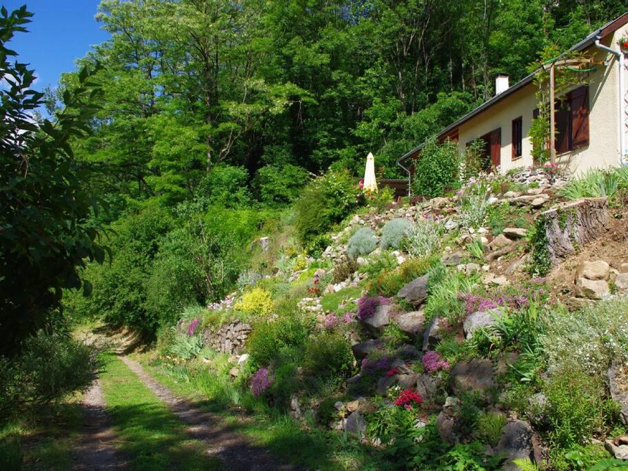 House and Rock Garden