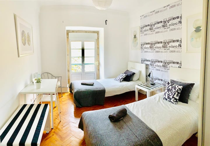 Cosy Central Room in Lisbon