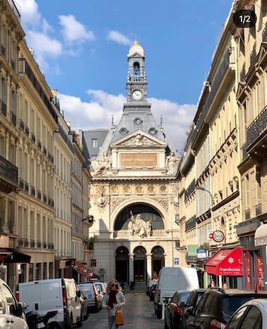 Studio au cœur de Paris ( Grands Boulevards)
