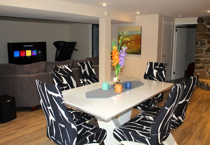 Clean&Stylish Basement Separate entrance 2bedrooms