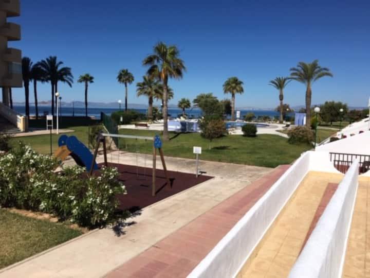 Apartment in La Manga next to the sea - PARKING-