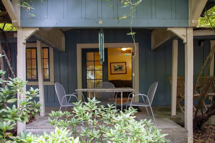 Covered Porch Breakfast Table
