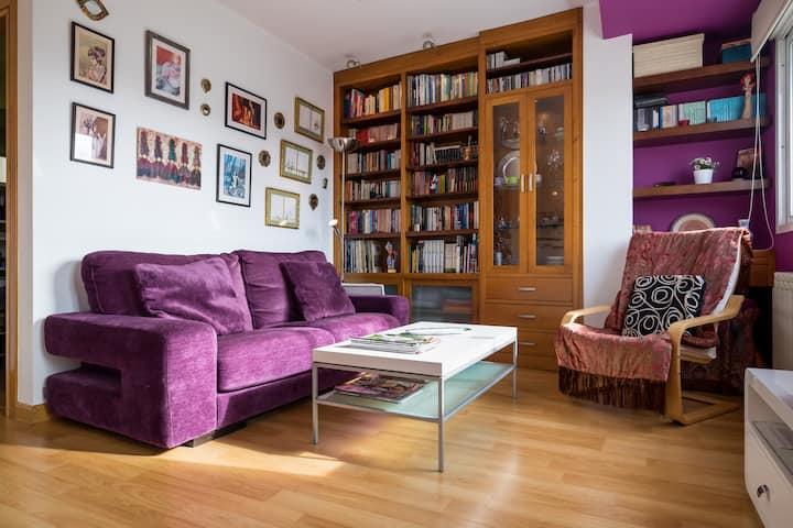 En Pontevedra ciudad: piso para 5