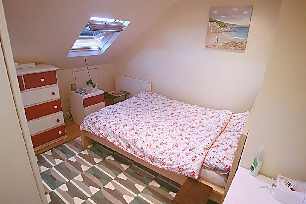 Double bed, comfortable