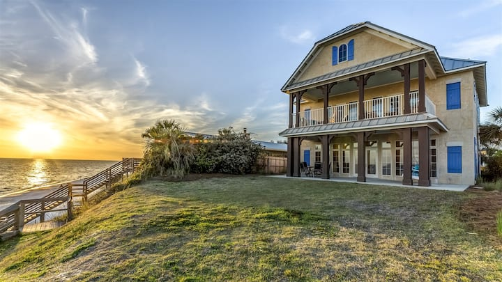 Always On My Mind - Gulf Front Seacrest Beach Home + Carriage House