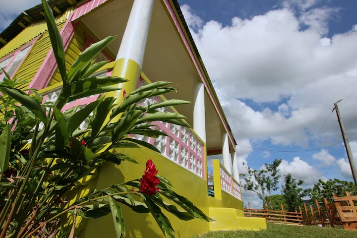 Taino Mountain Yellow House - Punta Cana