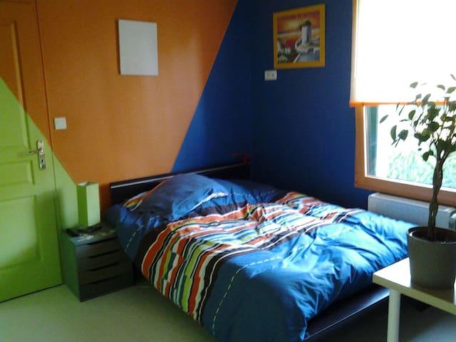 Chambre  privée dans une maison - Tinténiac, Bretag   Tinténiac  - Dům