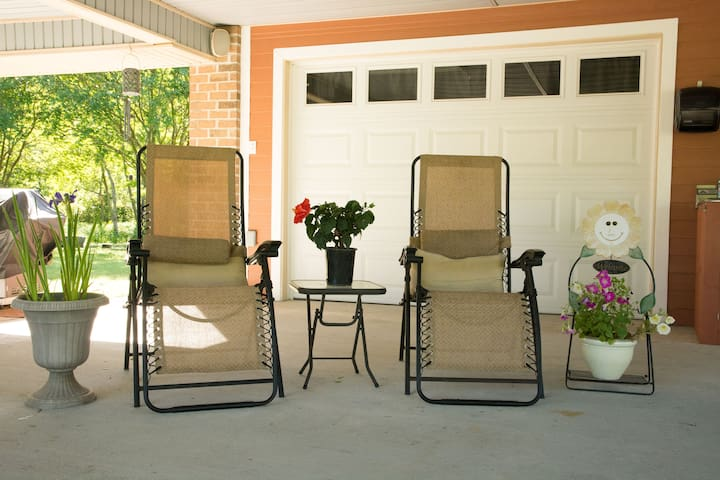 Nice chairs to relax outdoors