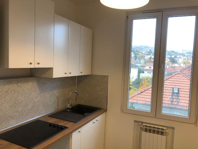 Appartement cosy rénové Clermont centre - Salins