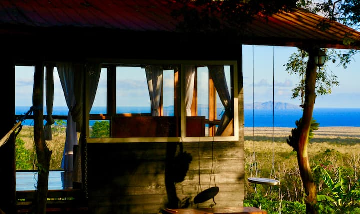 Private Wooden Cabin with an Incredible View