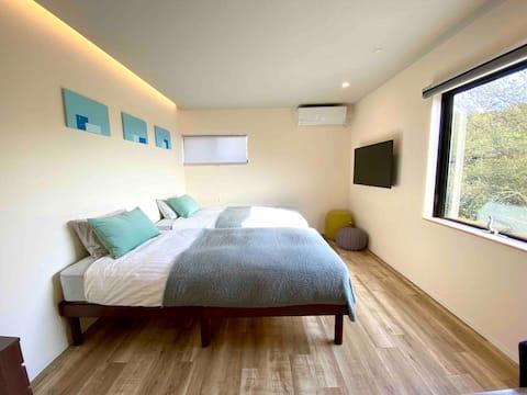 Naoshima - Room#1 w/ private kitchen & bath