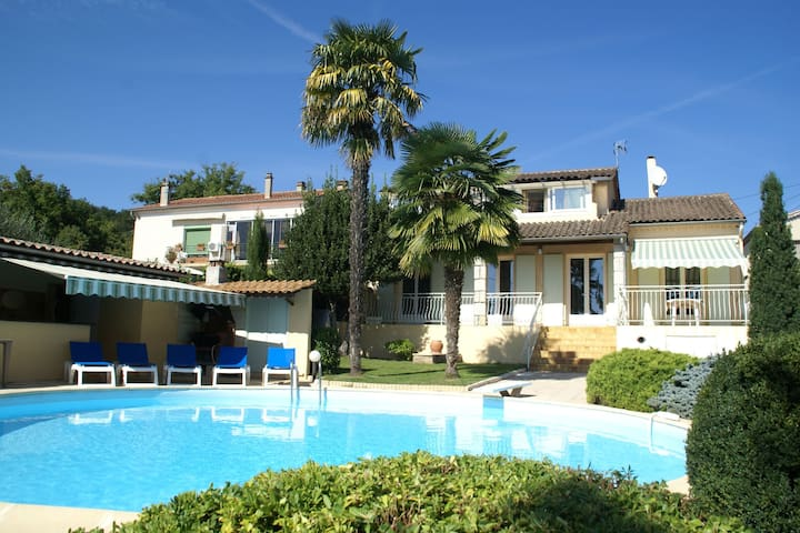 Stunning villa with private swimming pool and garden in the heart of the Ardèche
