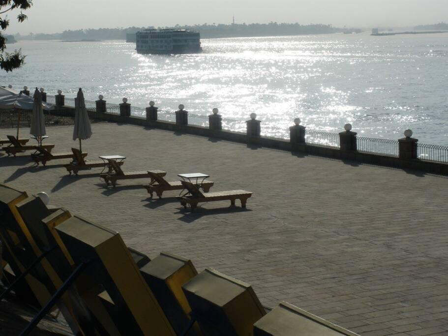 our private promenade