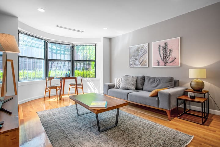 Convenient Fenway 2BR w/ Doorman + W/D near Green Line by Blueground