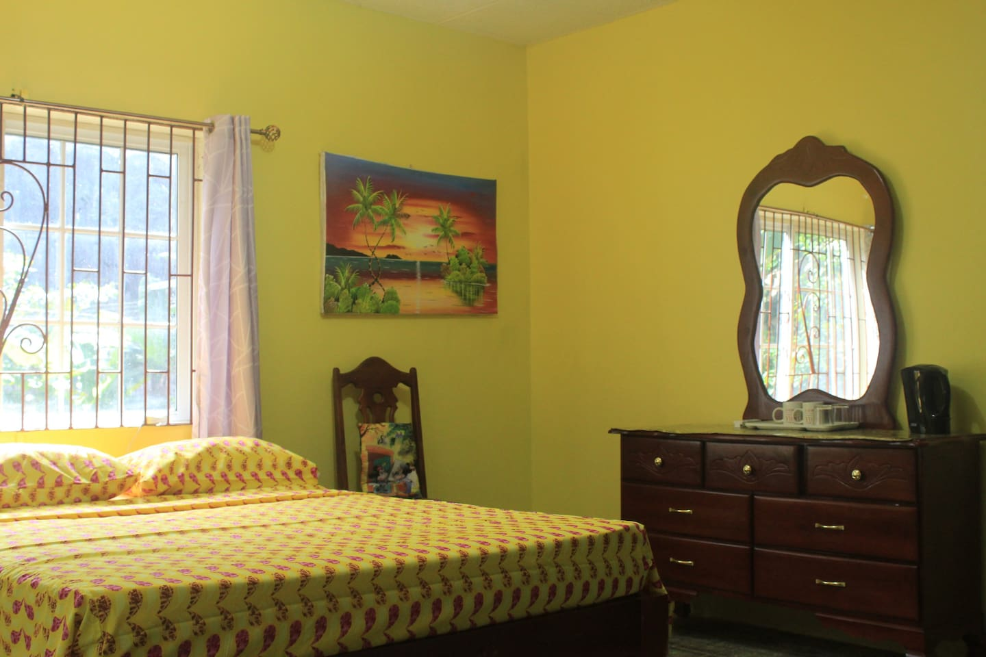 The Ackee Tree Room with a shared bathroom