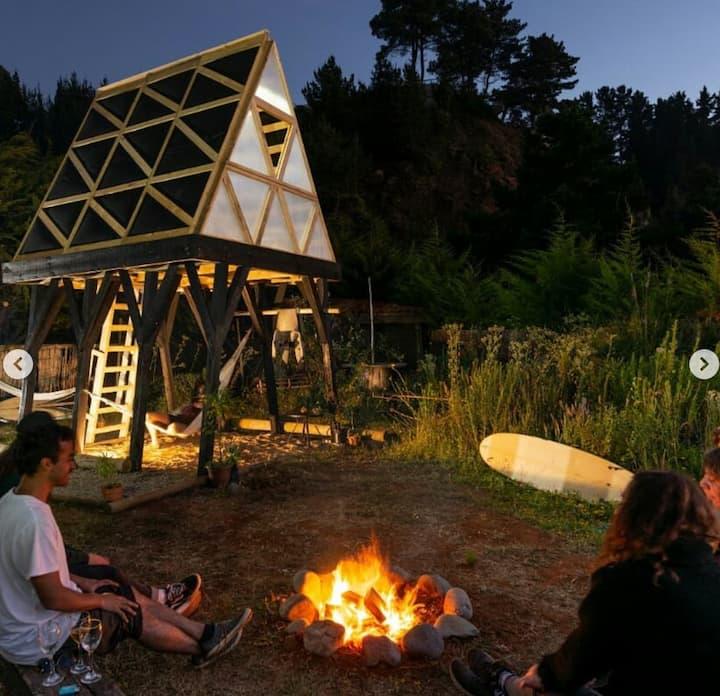 Habitación Fundamental -Glamping en puntasdelmaule