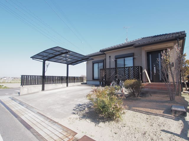 2LDK HOUSE FREE PARKING&BICYCLE UP TO 8 PEOPLE - Okazaki-shi - Ev