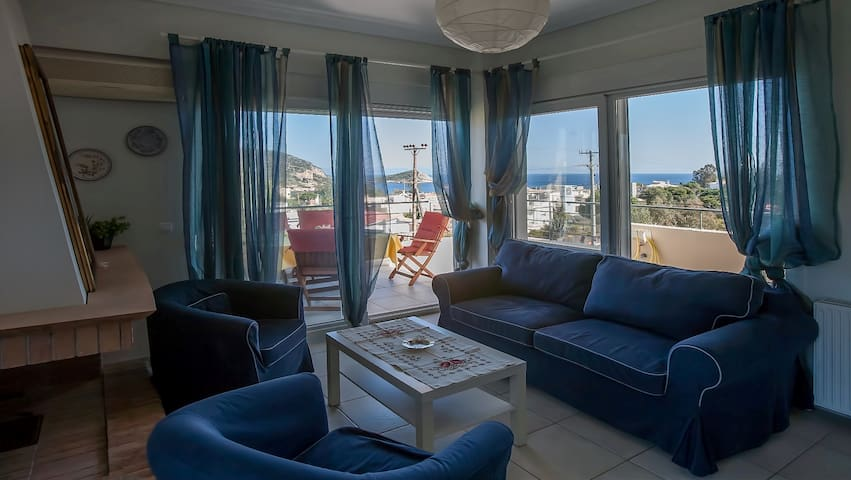 Luxury apartments with a splendid sea view. - Anatoliki Attiki - Apartment
