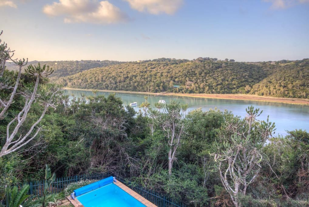 Bushmans River From Dining Room Deck