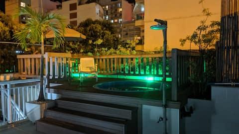 Penthouse/Cobertura duplex com piscina Copacabana