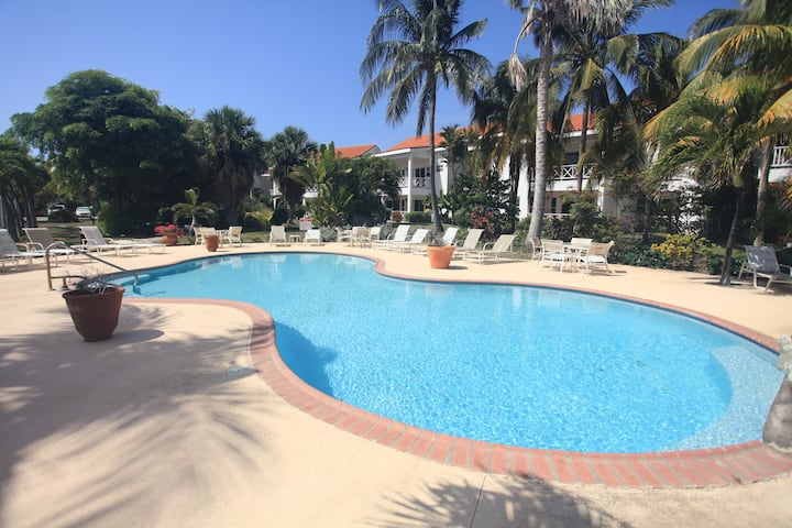 Leeward Cove large garden view condo
