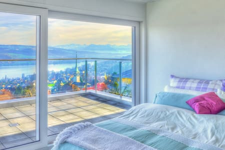 Luxury Suite - Panorama Lake View - Beinwil am See - Bed & Breakfast