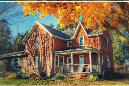 Peaceful Panorama Country Charm - New Tecumseth - Huis
