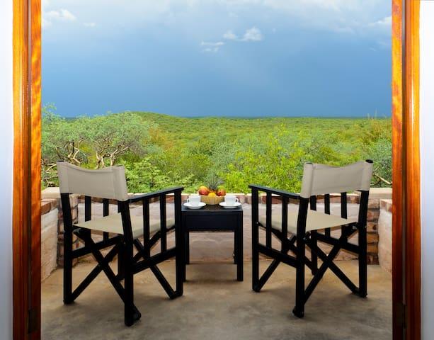 Etosha Safari Lodge view from room