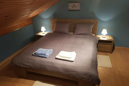 Private room (double bed) with breakfast