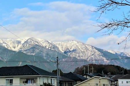 Biwa lake view from house with silver studio. - Otsu