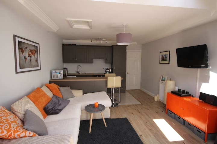 Modern apartment on quiet road with outdoor patio - Ranelagh