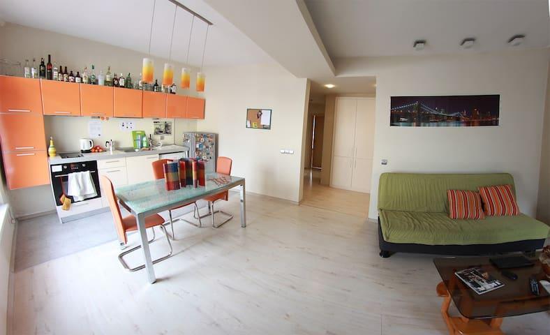 cozy house floor + breakfast + bikes + free beer - Sofia - Apartament