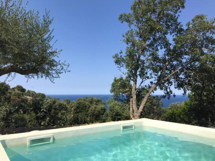 Villa 5 chambres avec vue mer et piscine