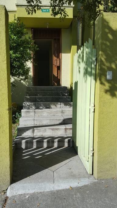Gate of hostel