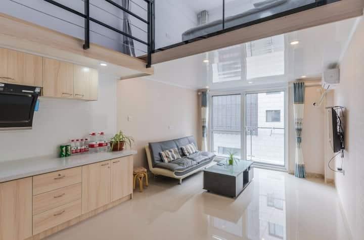 蓬莱阁 出门就是海 LOFT公寓 温馨港湾公寓 独立两卧 电梯房 海滨浴场 八仙渡1