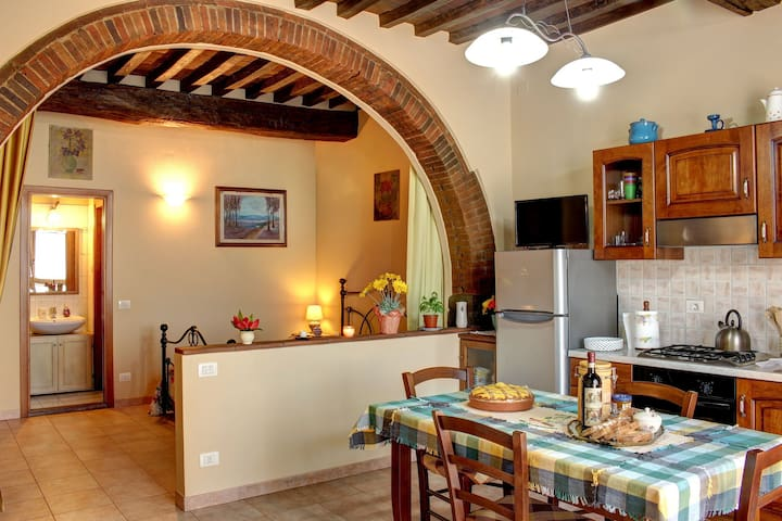 Typical apartment in the Chianti. - Ponte Agli Stolli - Apartemen