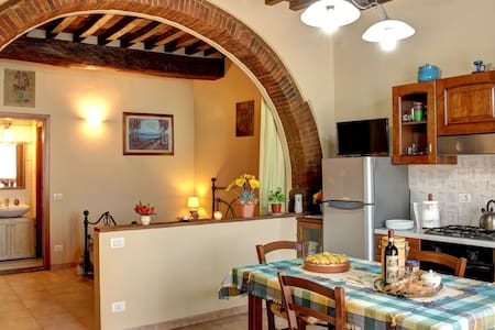 Typical apartment in the Chianti. - Ponte Agli Stolli