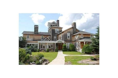 Thousand Island Mansion on the St. Lawrence River - Wellesley Island