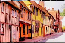 Lavenham. What a truly beautiful village.  Well worth a visit!