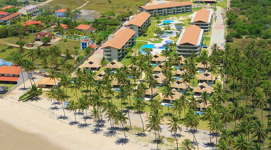 Praia dos Carneiros Beach Resort, Flat - Tamandaré - Appartement