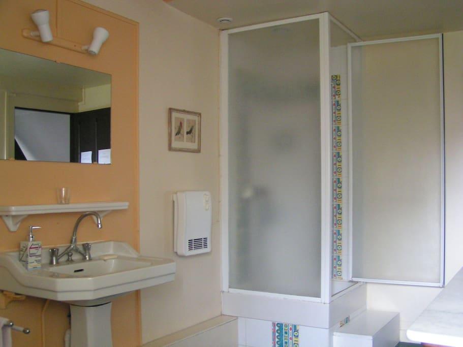Salle d'eau de la chambre familiale