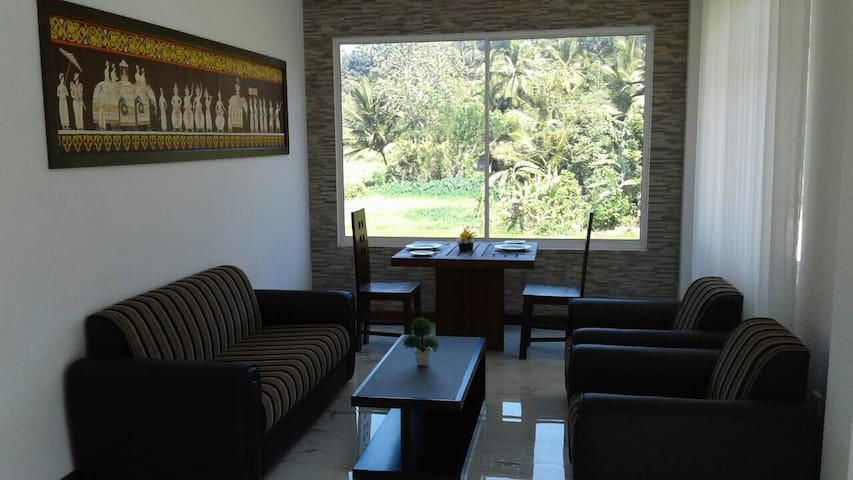 A/C bedroom with great view of Rice fields - Kandy - Apartamento