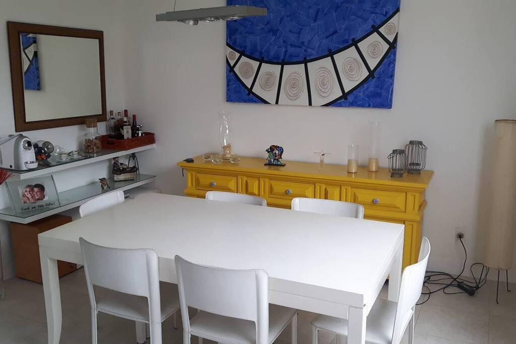 Espaço de jantar / Dinner space