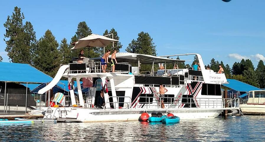 65' Houseboat located in North Idaho