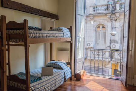 Habitación mixta compartida (4 camas)