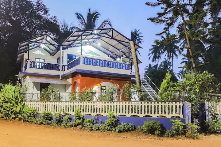 Vibrant 2BHK Home, Anjuna, Goa (Lightning Deal) ⚡