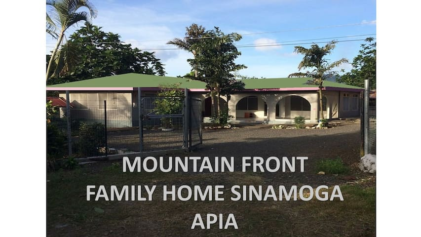 Mountain Front Family Home